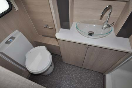 2014 Adria Adora Seine shower room
