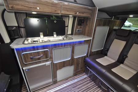 Wellhouse Terrier Motohome interior
