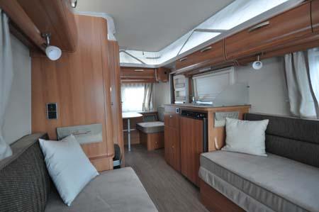 Eriba Touring 540GT - Lounge