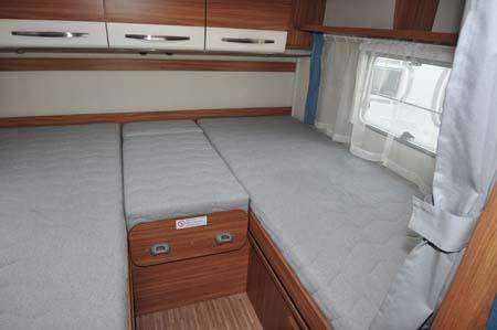 Carado T337 Motorhome Beds