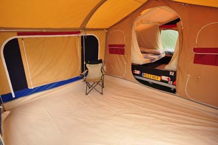 Trigano Galleon Camper interior