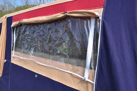 Trigano Galleon Camper window