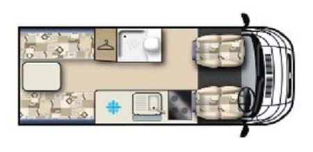 Auto-Sleeper Warwick Duo Floor plan