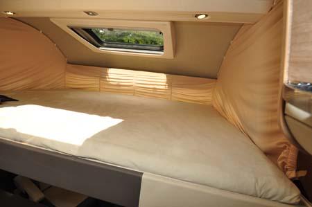 Adria Sonic Plus Over Cab Bed