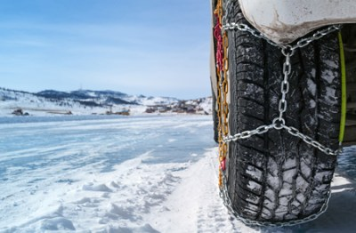 Snow chains for winter touring