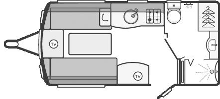 Swift Elegance 480 Floor Plan