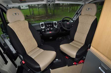 Vantage Med Motorhome Cab