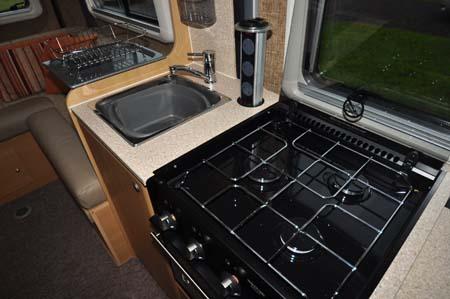 Vantage Med Motorhome Kitchen