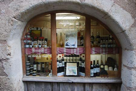 Shopping for wine in France