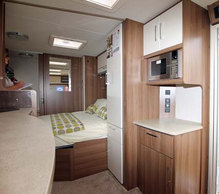 Lunar Venus 570 Interior Sleeping