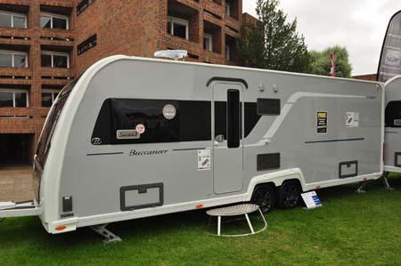 Buccaneer Clipper Caravan Exterior