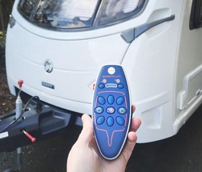 caravan motor mover remote control