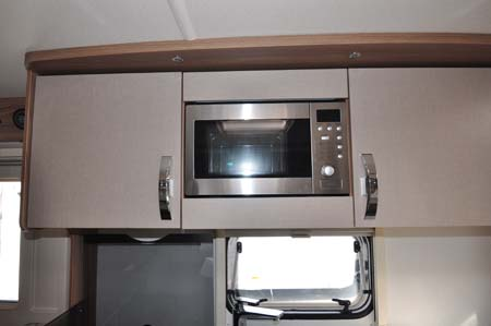 Swift Challenger 530 Microwave