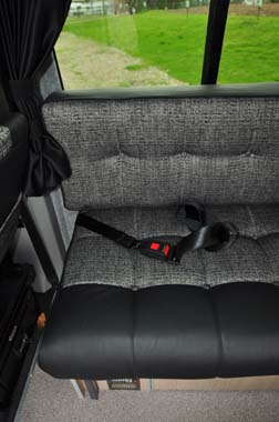 Motorhome lap belts