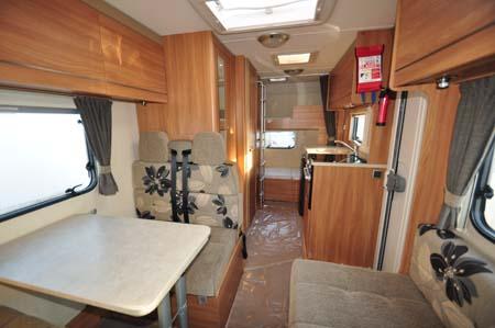 Swift Escape 969 interior