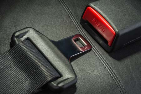 Motorhome seatbelts