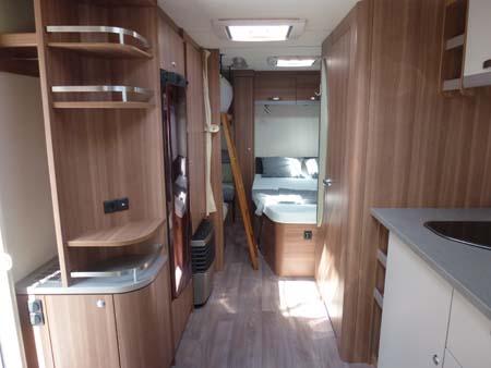 Weinsberg CaraOne 550UK Interior