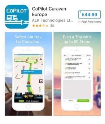 CoPilot Caravan app image