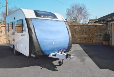 Specialised covers caravan towing cover