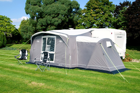 Sunncamp Awning Advance Air (shown with annexe)