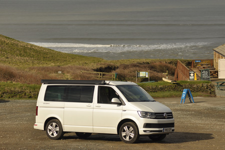 VW California Ocean Exterior