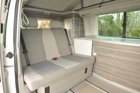 VW California Ocean Seating