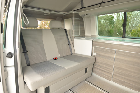 VW California Ocean Seating