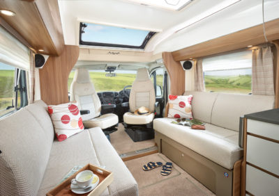 Bailey Autograph motorhomes 75-2 front lounge