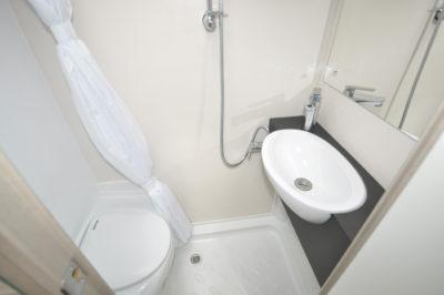 Swift Basecamp washroom