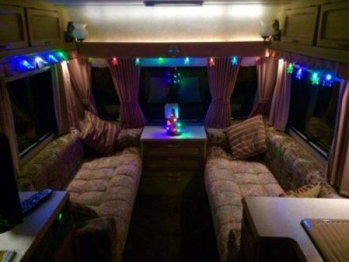 Christmas caravan lights
