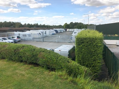 caravan and motorhome storage site