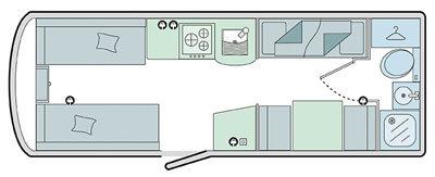 Bailey Pursuit 560-5 Floor Plan
