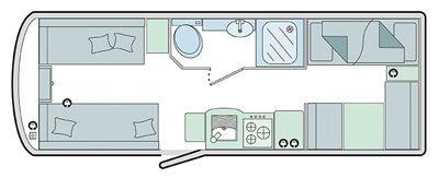 Bailey Pursuit 570-6 Floor Plan