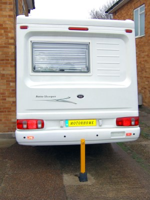 Motorhome security post