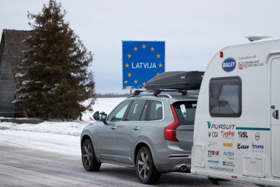 Caravanning in Latvia