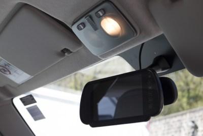 Motorhome reversing camera rear view