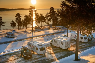 Caravanning in Sweden