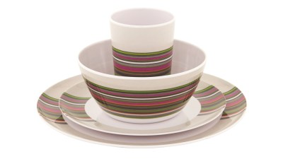 Blossom Picnic Set 4 Persons Magnolia Red