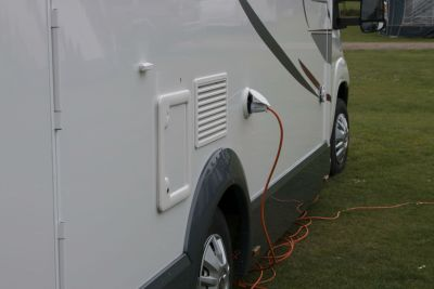 Electric hook up cable - motorhome accessories
