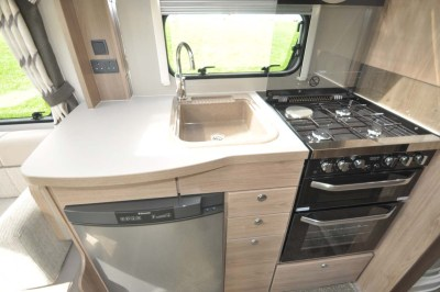 Elddis Compass Capiro 550 Kitchen