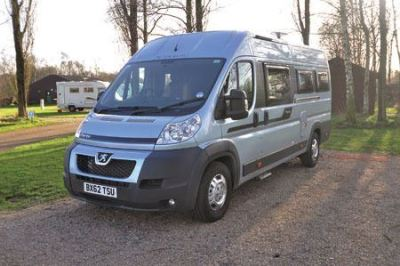 Panel van or derived van motorhome body type