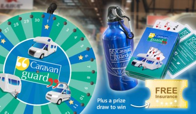 Motorhome and caravan show prizes