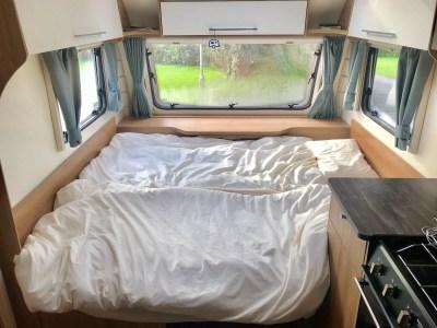 Make up caravan beds