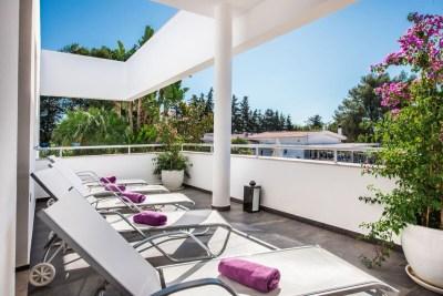 Terrace spa Turiscampo Portugal