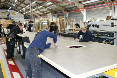 Bailey caravans construction floor1