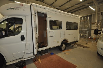 Motorhome with damp issues