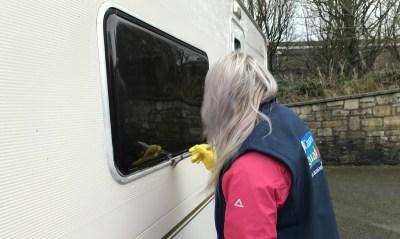 Caravan cleaning - Silky
