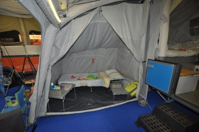 Opus Air Folding Camper Bedroom