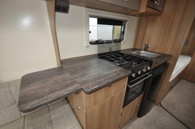Bailey Pursuit 550 4 caravan kitchen