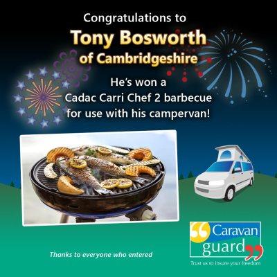 Cadac barbecue winner